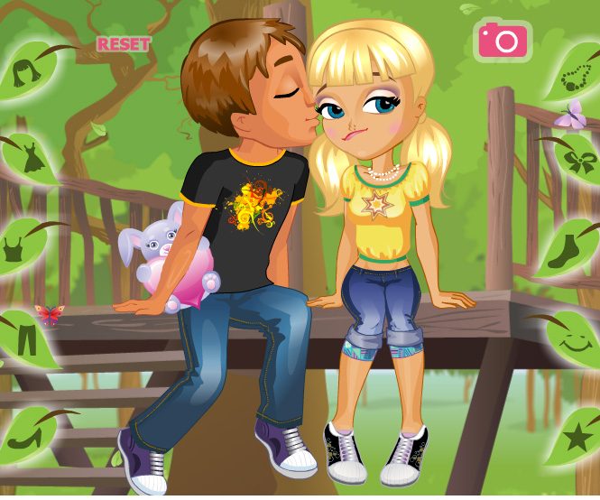 A Kiss on a Tree game online. Screen Shot 3