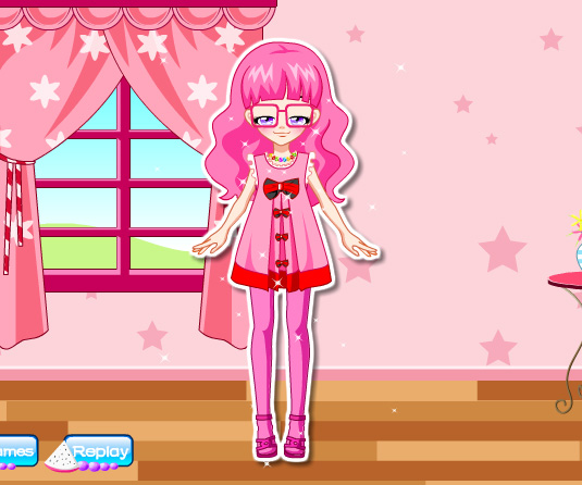 Adorable Girl Next Door game online. Screen Shot 1