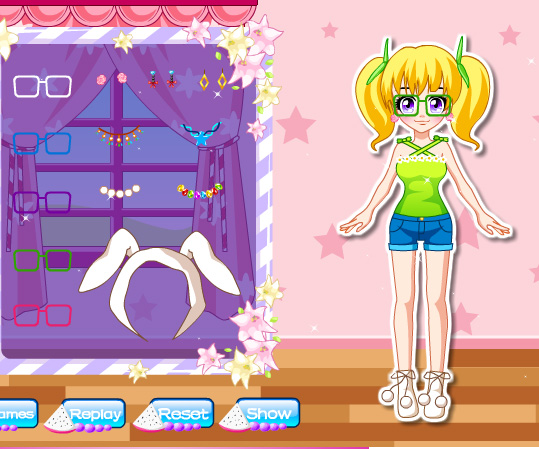 Adorable Girl Next Door game online. Screen Shot 3
