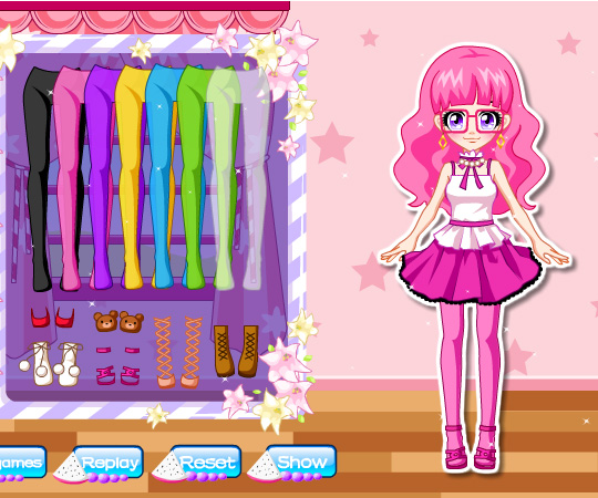 Adorable Girl Next Door game online. Screen Shot 4