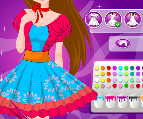 Design Dress Games For Girls Free Online Amazing Dress Design game