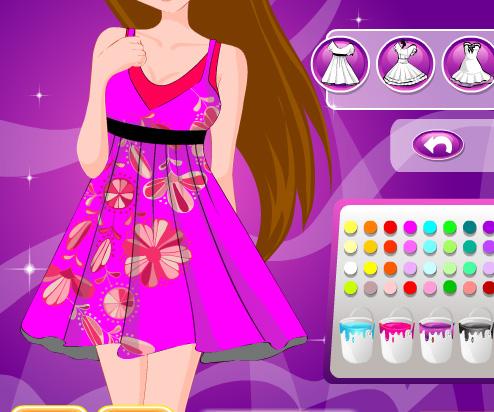 Amazing Dress Design game online. Screen Shot 4
