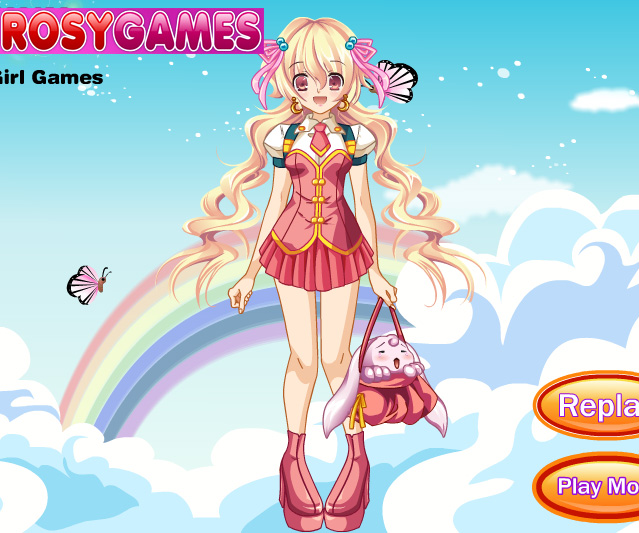 Anime girl 2 game online girls games only