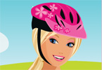 Barbie Bike game online