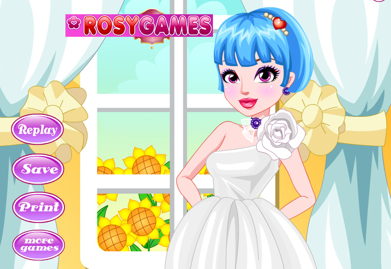 Bride Preparation Facial game online. Screen Shot 4