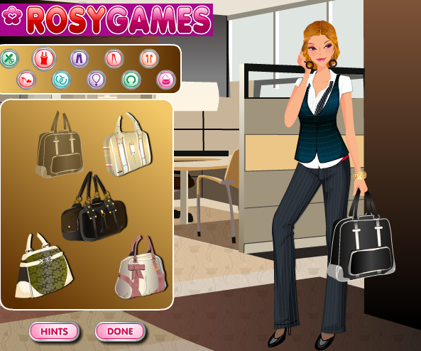 Business Chic Dress Up game online. Screen Shot 2
