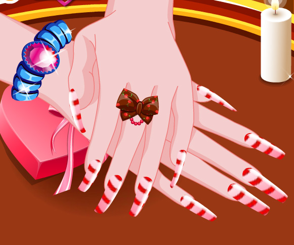 Chocolate Nails Art game online. Screen Shot 4