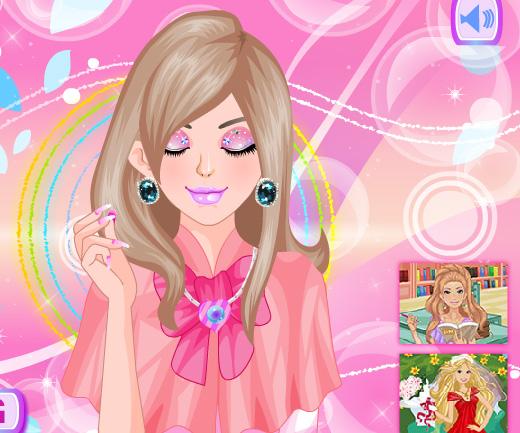 Creative eyeshadow game online. Screen Shot 4