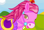 Cute Horse Dressup game online