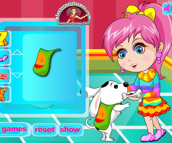 Cute pet lover dress up game online. Screen Shot 1