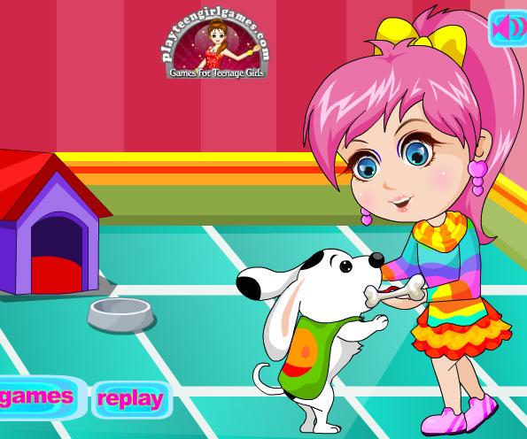 Cute pet lover dress up game online. Screen Shot 4