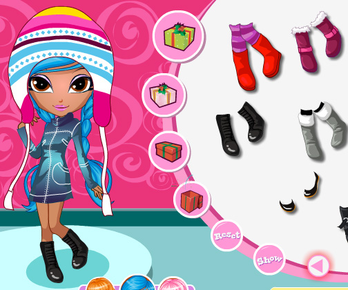 Cutie Trend Xmas Party game online. Screen Shot 3