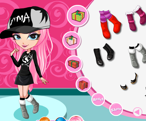 Cutie Trend Xmas Party game online. Screen Shot 4