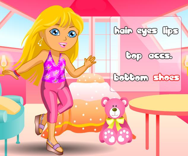 Dora DressUp game online. Screen Shot 3