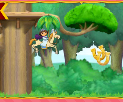 Dora Royal Rescue game online. Screen Shot 3