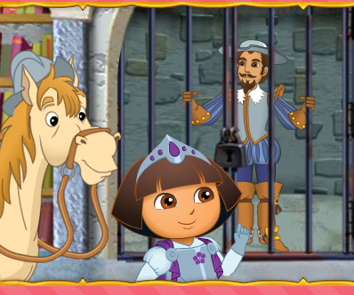 Dora Royal Rescue game online. Screen Shot 4
