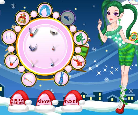 Fairy Elf Doll game online. Screen Shot 2