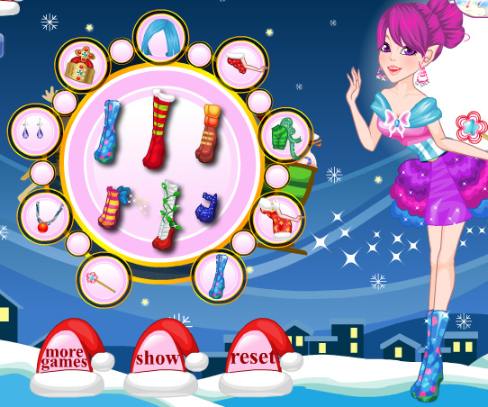 Fairy Elf Doll game online. Screen Shot 3