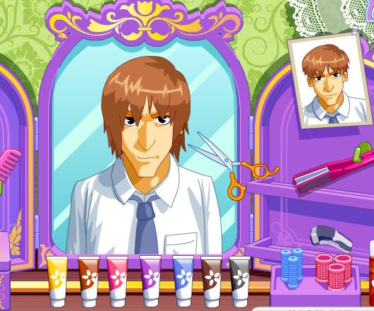 Happy Hairdesser game online. Screen Shot 3
