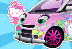 Hello Kitty Car game online