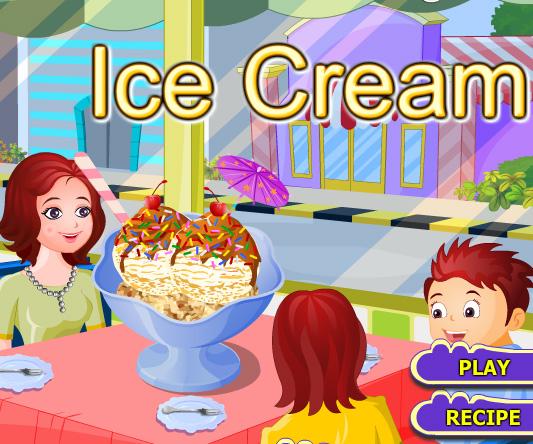 Ice cream game online. Screen Shot 1