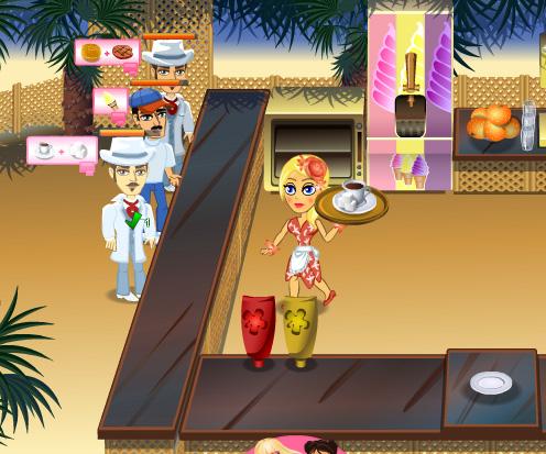 Jennifer Rose Snack Bar game online. Screen Shot 2