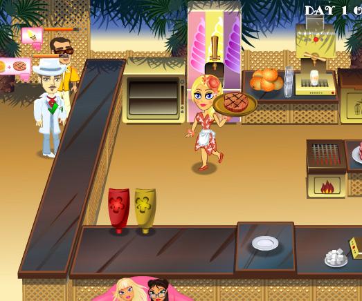 Jennifer Rose Snack Bar game online. Screen Shot 3