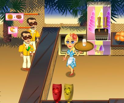 Jennifer Rose Snack Bar game online. Screen Shot 4