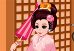 Kimono Cutie Dress Up game online