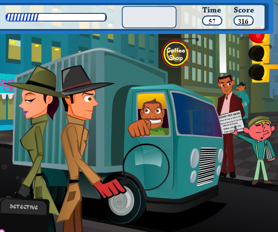 Kissing Undercover game online. Screen Shot 3