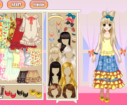 Laces Girl Dress Up game online. Screen Shot 3