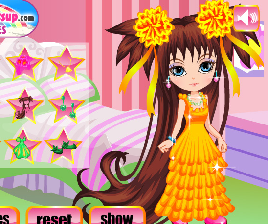 Long Haired Princess game online. Screen Shot 3