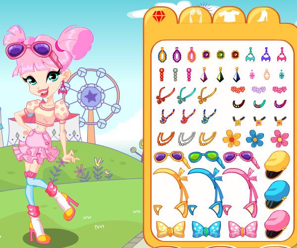 Mini Winx Princess game online. Screen Shot 1