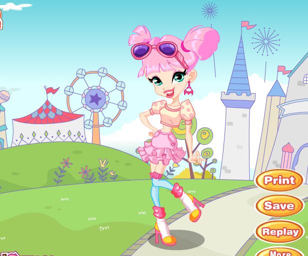 Mini Winx Princess game online. Screen Shot 2