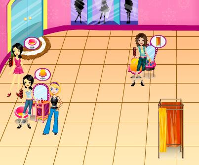 Model Dream Factory game online. Screen Shot 1