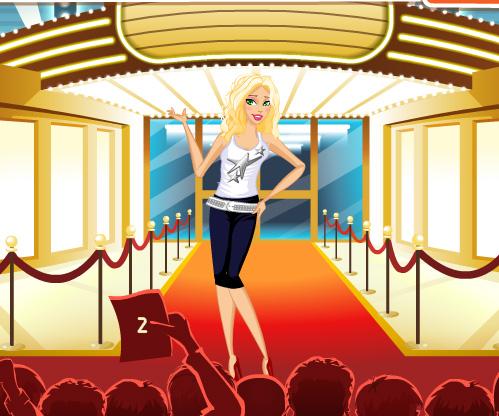 Movie Star game online. Screen Shot 3