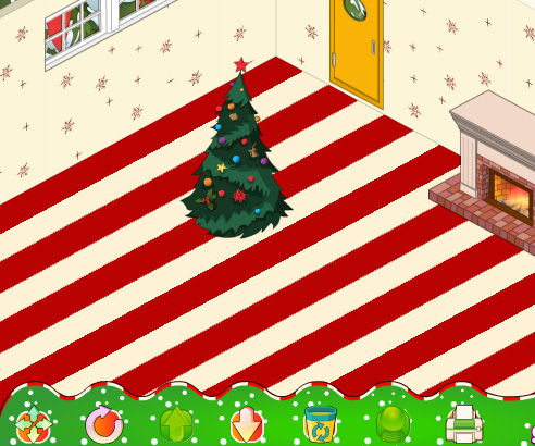 My New Room Christmas game online. Screen Shot 1