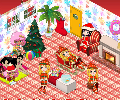 My New Room Christmas game online. Screen Shot 3