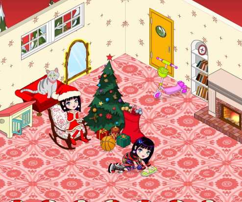 My New Room Christmas game online. Screen Shot 4
