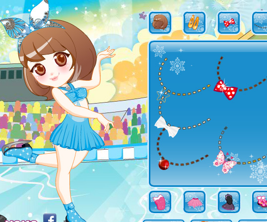 My Skating Class game online. Screen Shot 2