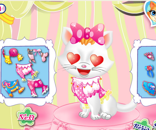 Pets Beauty Salon game online. Screen Shot 2