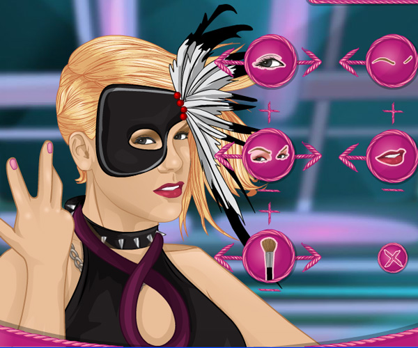 Pink Dress Up game online. Celebrity games | Girls games only