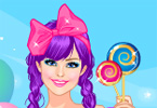 Pink Сandy girl game online