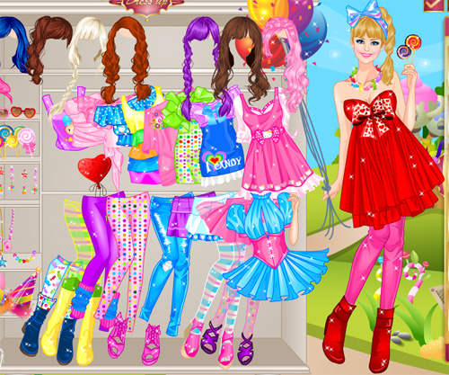 Pink Сandy girl game online. Free Dress up game | Girls games only