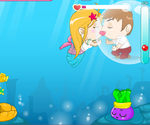 Romantic Sea game online. Screen Shot 2