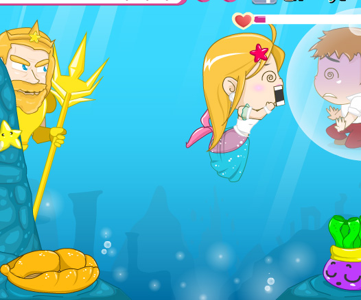 Romantic Sea game online. Screen Shot 3