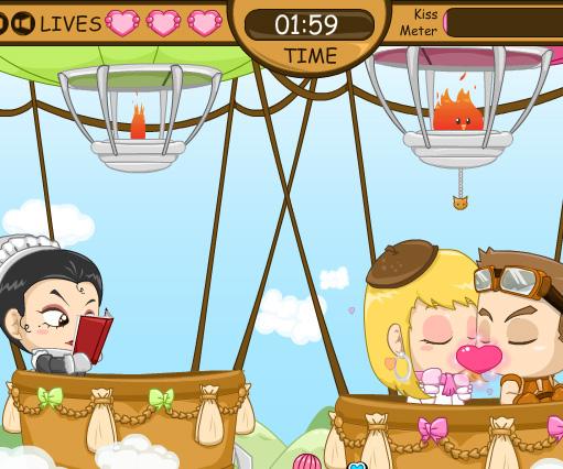 Romantic Sky game online. Screen Shot 1