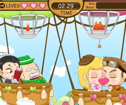 Romantic Sky game online. Screen Shot 3