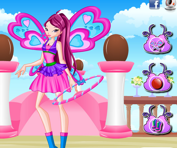 Roxy Lovix Style game online. Screen Shot 1