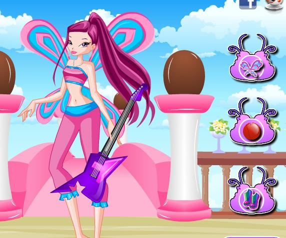 Roxy Lovix Style game online. Screen Shot 2